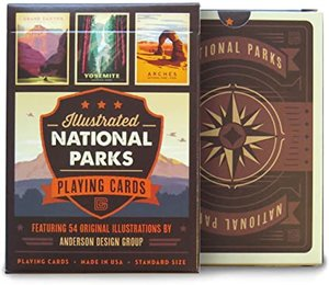 54 National Parks Playing Cards