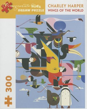 Charley Harper Puzzle Wings to the World 300 pieces