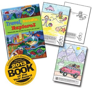 Travel, Doodle, Explore! National Parks, Cities and Other Fun Places to Color and Draw!