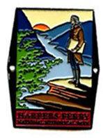 Hiking Staff Medallion HFNHP Jefferson
