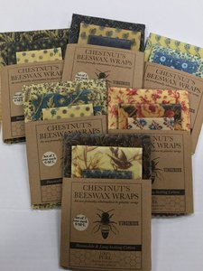 Chestnut's Beeswax Wraps 3-pack