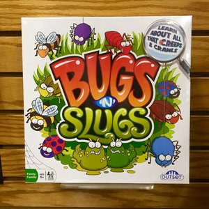 Bugs 'n' Slugs Board Game Learn About all that Creeps and Crawls