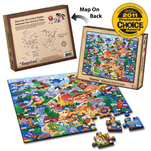 Jr. Ranger National Park Puzzle