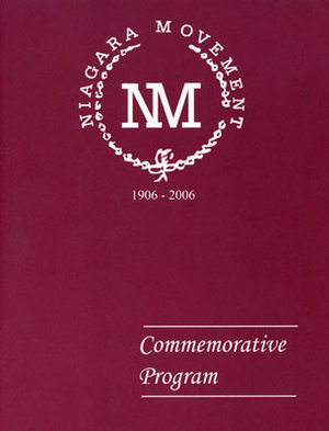 Niagara Movement Commemorative Program