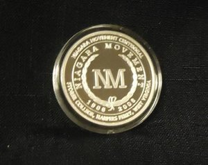 Niagara Movement Silver Medallion