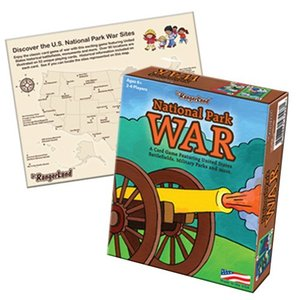 National Park War A Card Game Featuring United States Battlefield, Military Parks and more