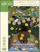Charley Harper Puzzle The Rocky Mountains 1000 Pieces