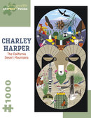 Charley Harper Puzzle California Desert Mountains