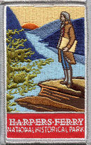 Harpers Ferry National Historical Park Patch - Jefferson