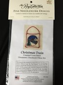 Christmas Train Cross Stitch Ornament